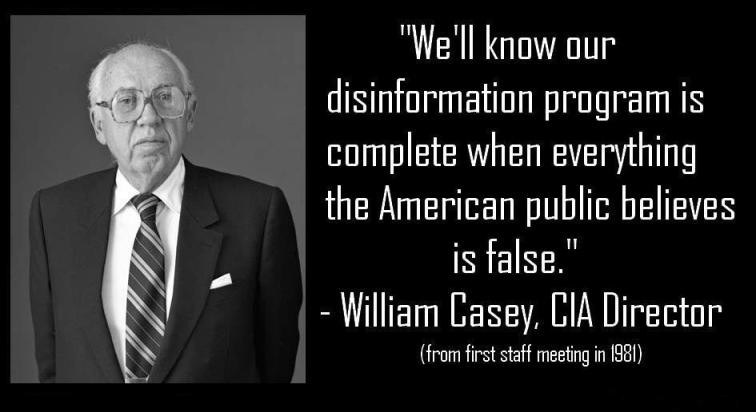 CIA-Disinformation