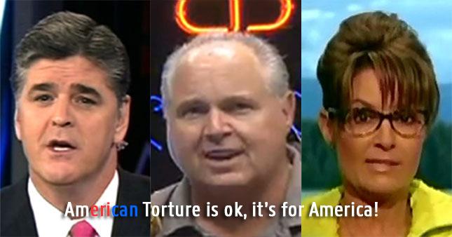 limbaugh-hannity-palin-Torture
